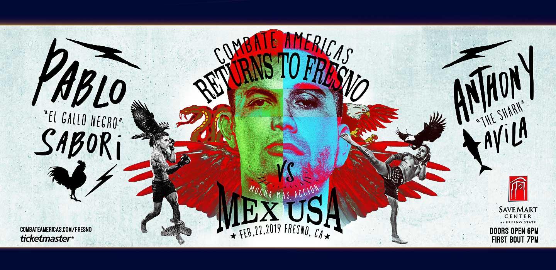 Mixed Martial Arts - Combate Americas - Returns to Fresno